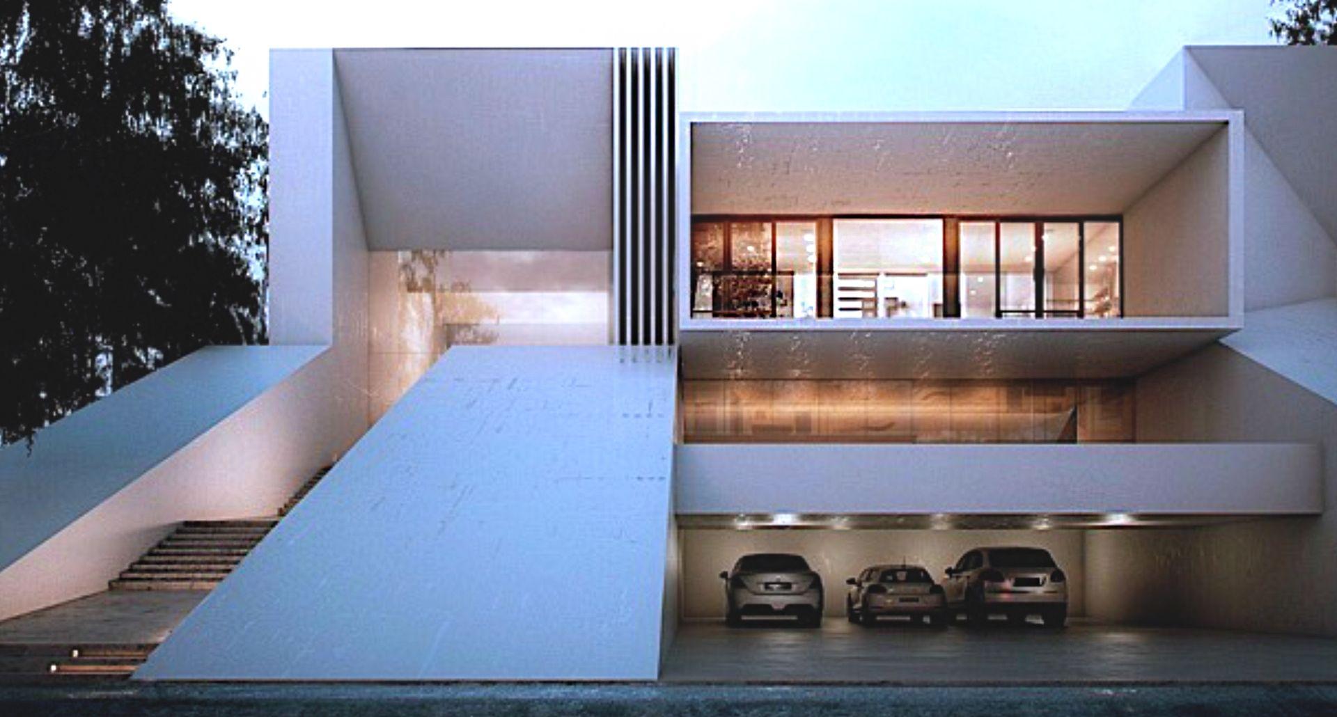 Villas fiogere francia creato arquitectos contemporaneo pinterest arquitectos casas - Arquitectos casas modernas ...