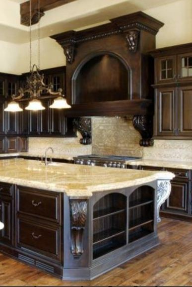 Old World Mediterranean Italian Spanish & Tuscan Homes & Decor Entrancing Tuscan Kitchen Designs Design Inspiration