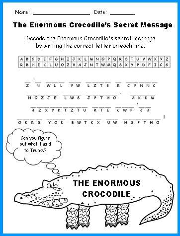 Enormous Crocodile Lesson Plans: Author Roald Dahl | Guided