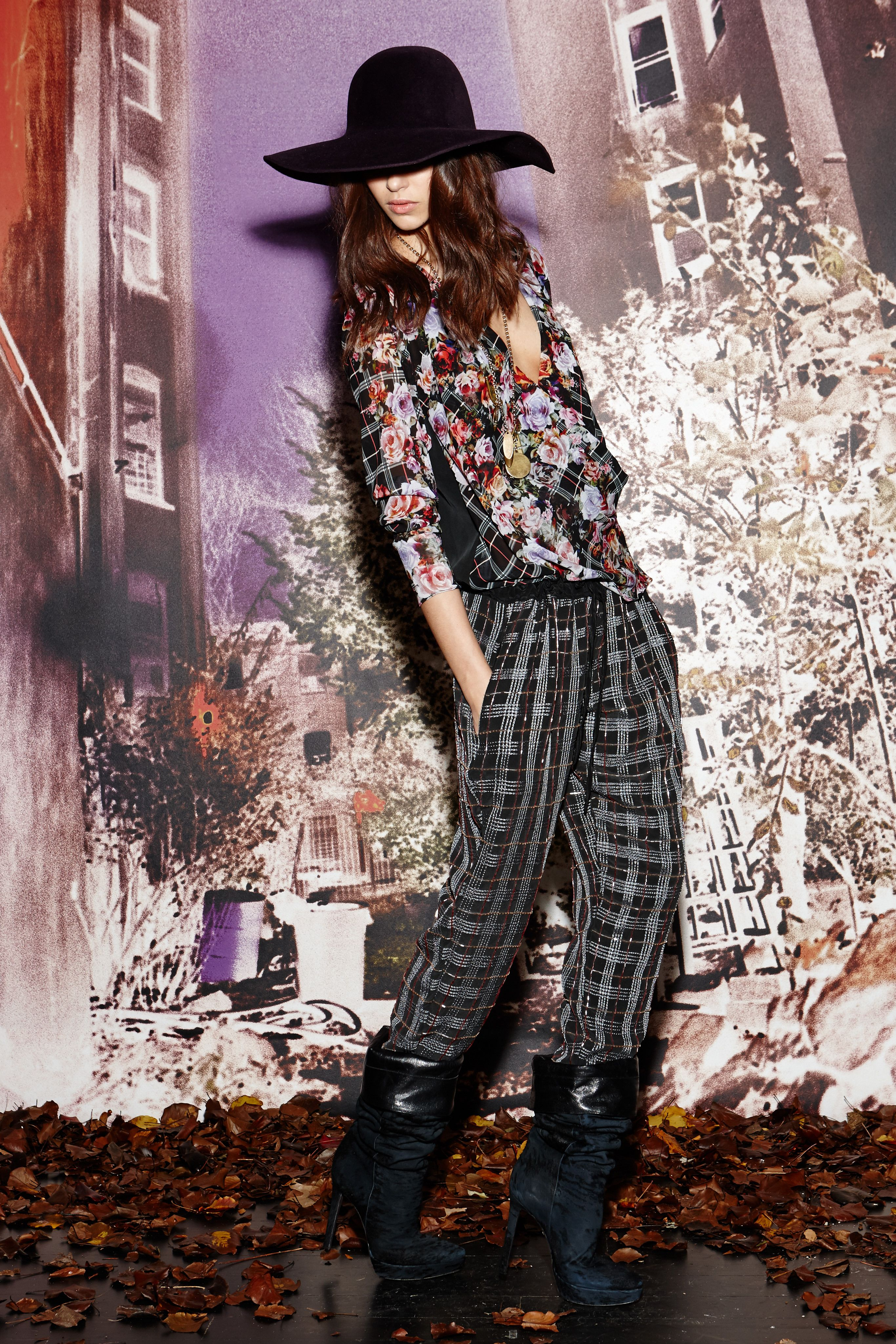 Celebrities at the New York Fall 2014 fashion week (part 2