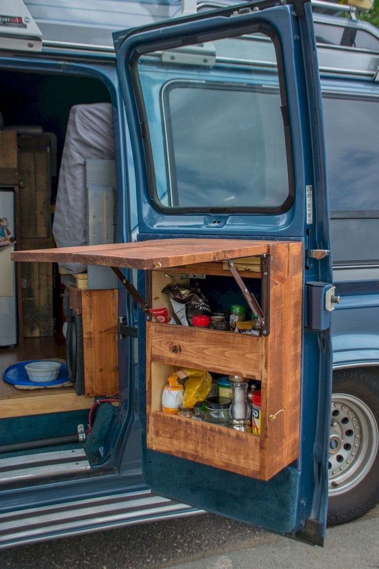 Photo of 75 Simple Camper Storage Hacks for RV Living Ideas #rvliving 75 Simple Camper St…