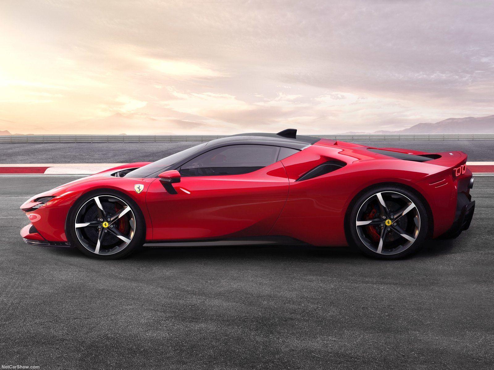 Ferrari Sf90 Stradale Super Cars Hybrid Car Cool Sports Cars
