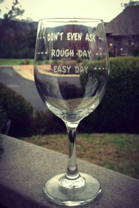 Perfect glass for a #Monday night! #wine #funny