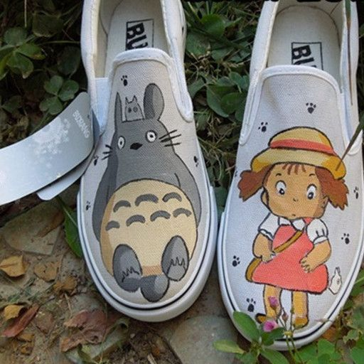 Hand Painted Shoes Anime Shoes Custom Painted Shoes