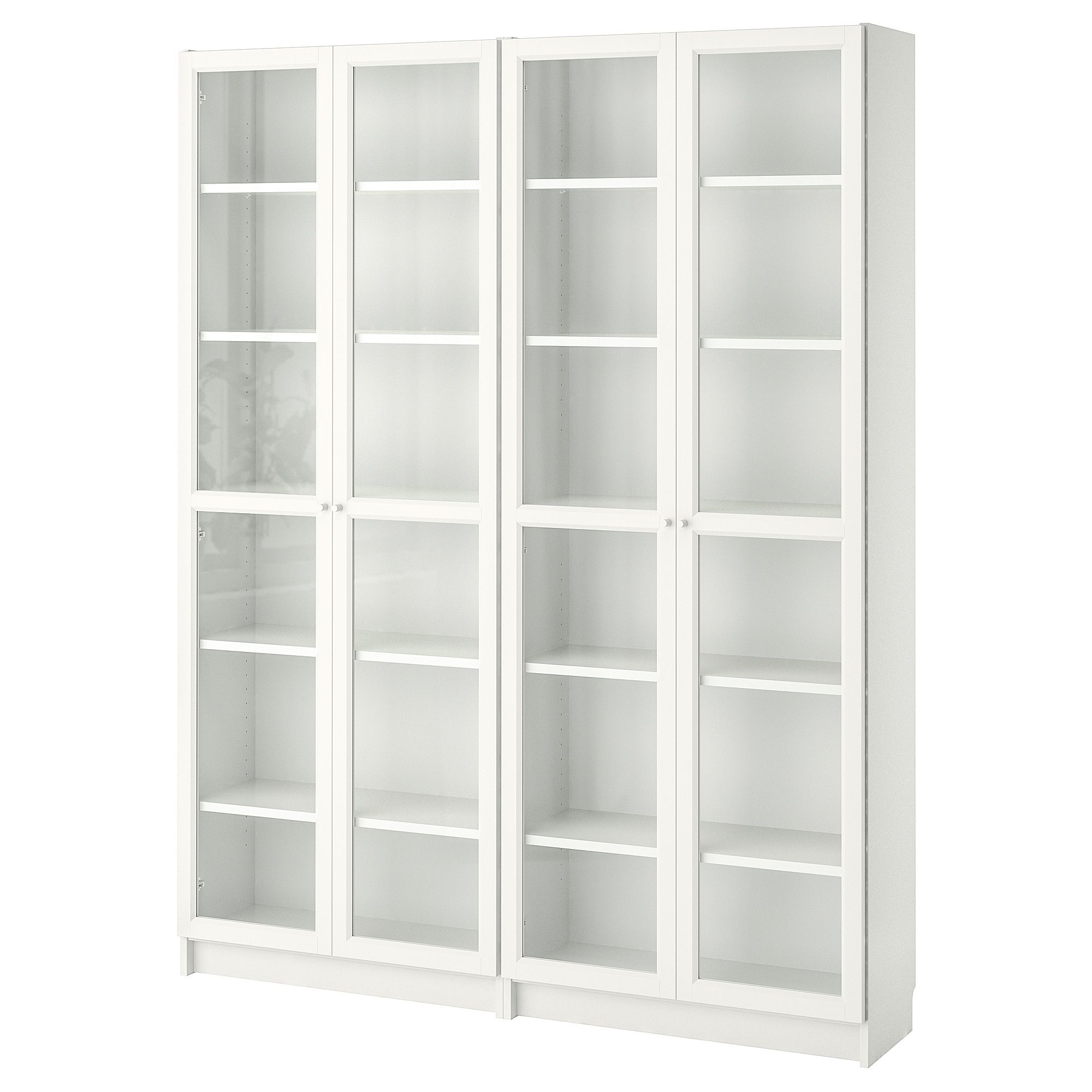 billy oxberg bookcase white glass ikea home wishlist rh pinterest com
