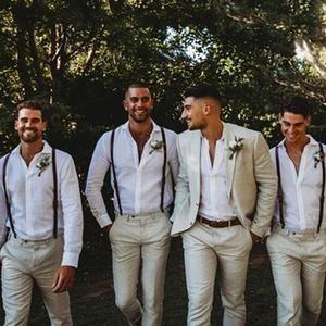 Groomsmen Gifts Custom Leather Suspenders Personalized Groomsmen Suspenders Wedding Suspenders