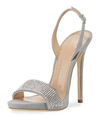 d13b183c6603 Coline Crystal Slingback Sandal by Giuseppe Zanotti at Neiman Marcus ...