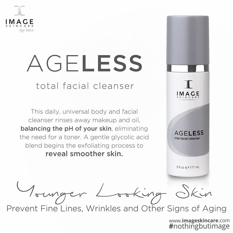 Ageless Total Facial Cleanser Image Skincare Skin Care Beauty