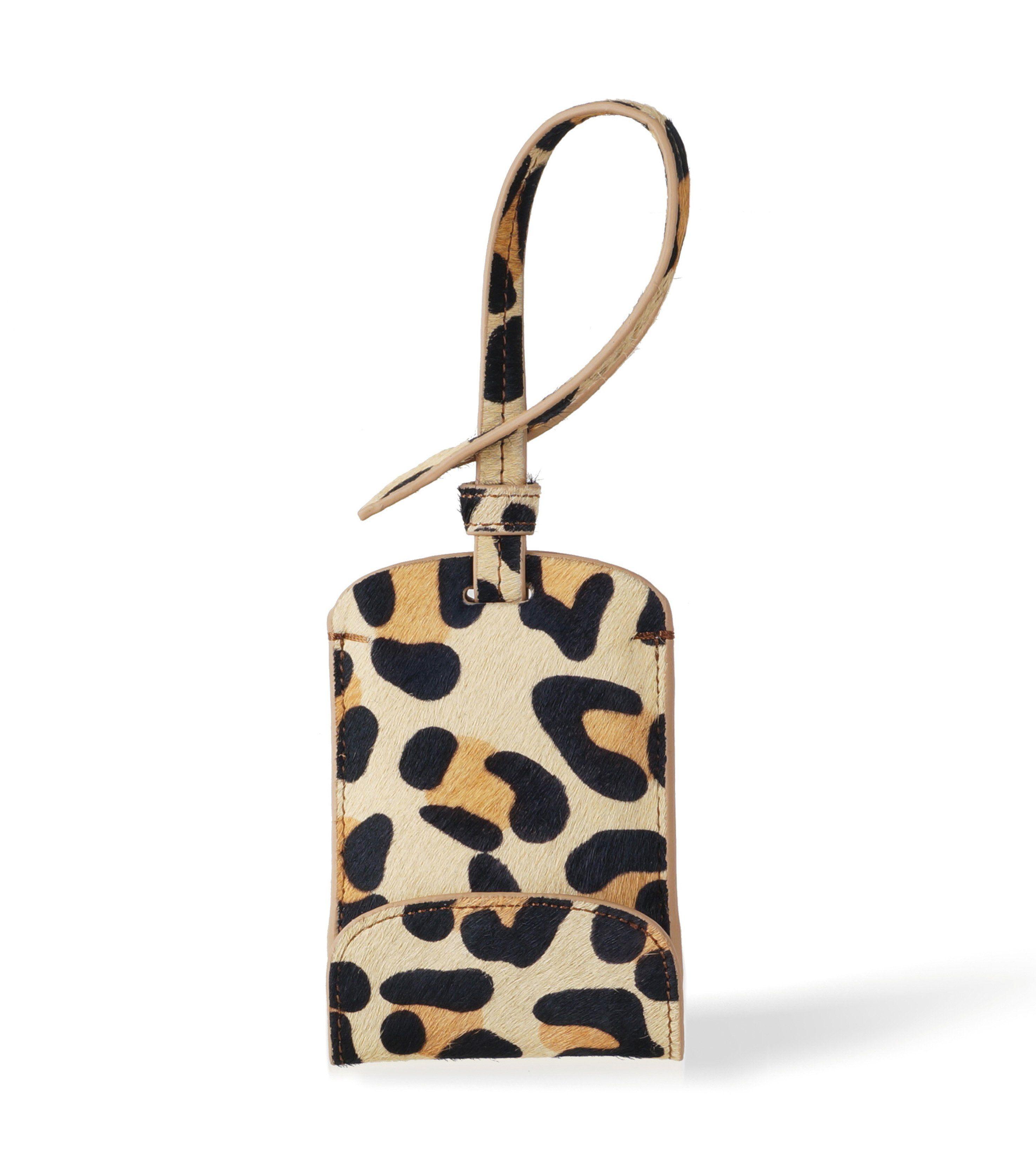 Fancy - Leopard Bag Tag Smartphone Charger