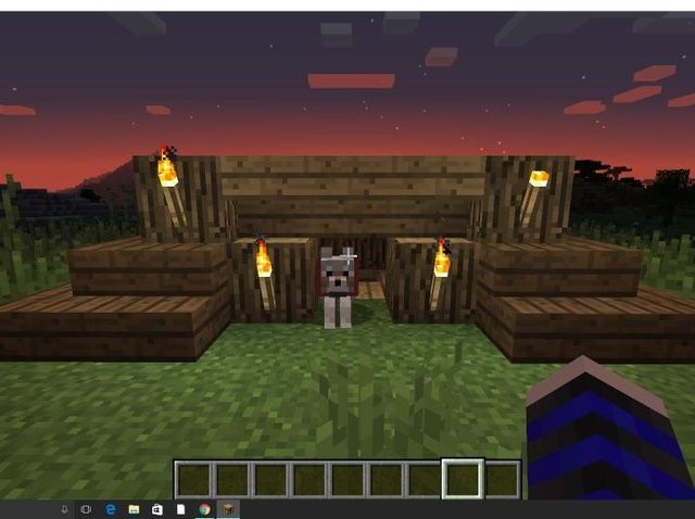 How To Build A Doghouse In Minecraft Recipe Dog House Plans