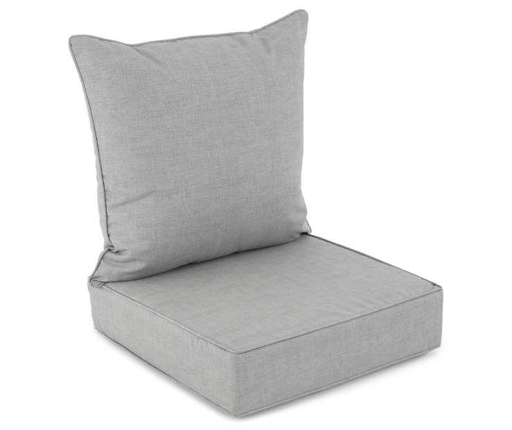 Gray Deep Seat Back Cushion Set At Big Lots Deep Seating