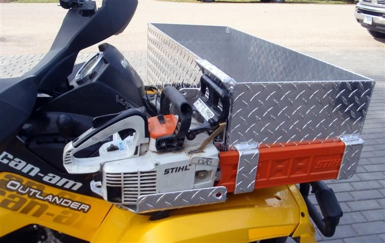 Chain Saw Mount Outlander discussion canam ATV Forums