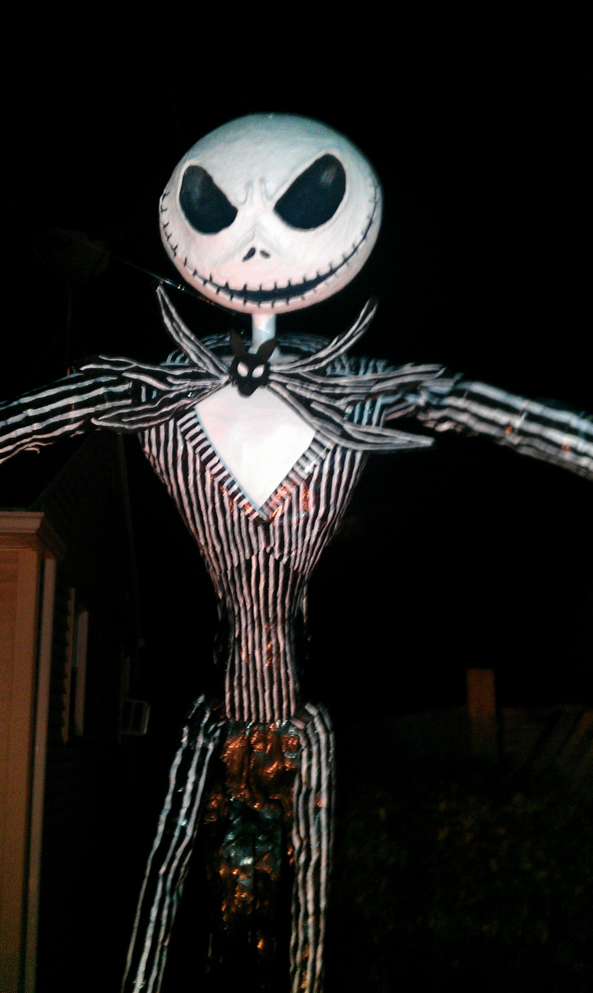 Paper Mache Nightmare Before Christmas Characters (Jack