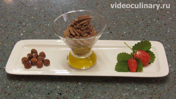 Шоколадный сливочный крем от videoculinary.ru