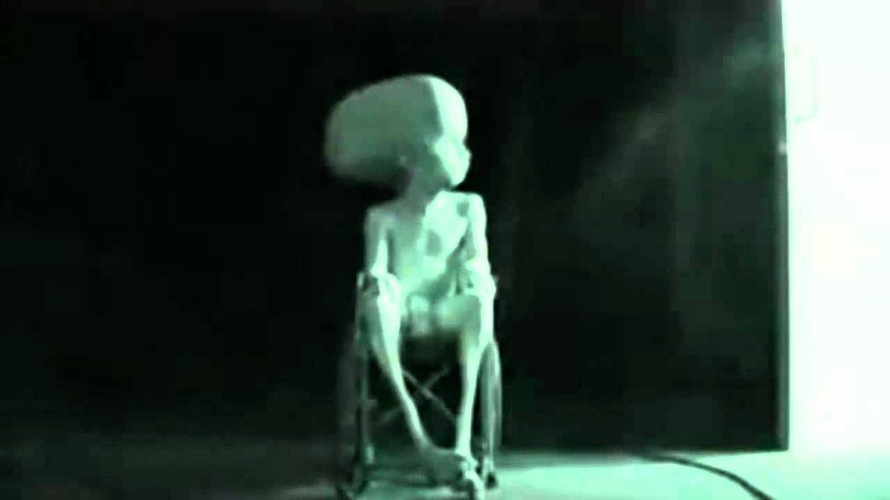 Real alien captured by NASA - possibly died in captivity ...
