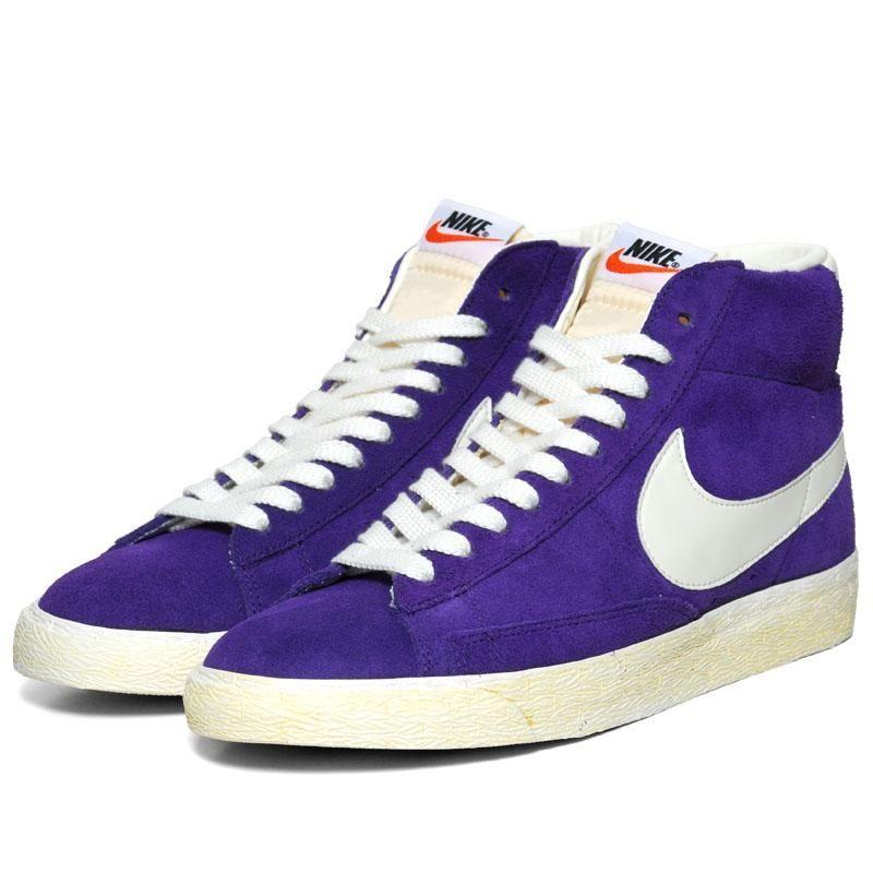 Nike Blazer Vintage Purple   Nike blazer, Nike blazer vintage, Shoes