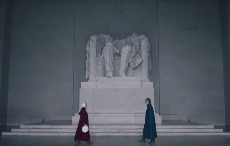 The Handmaid S Tale Season 3 Episode 6 Review Operating On A Deficit Of Aunt Lydia Nme Tales Tales Series Season 3