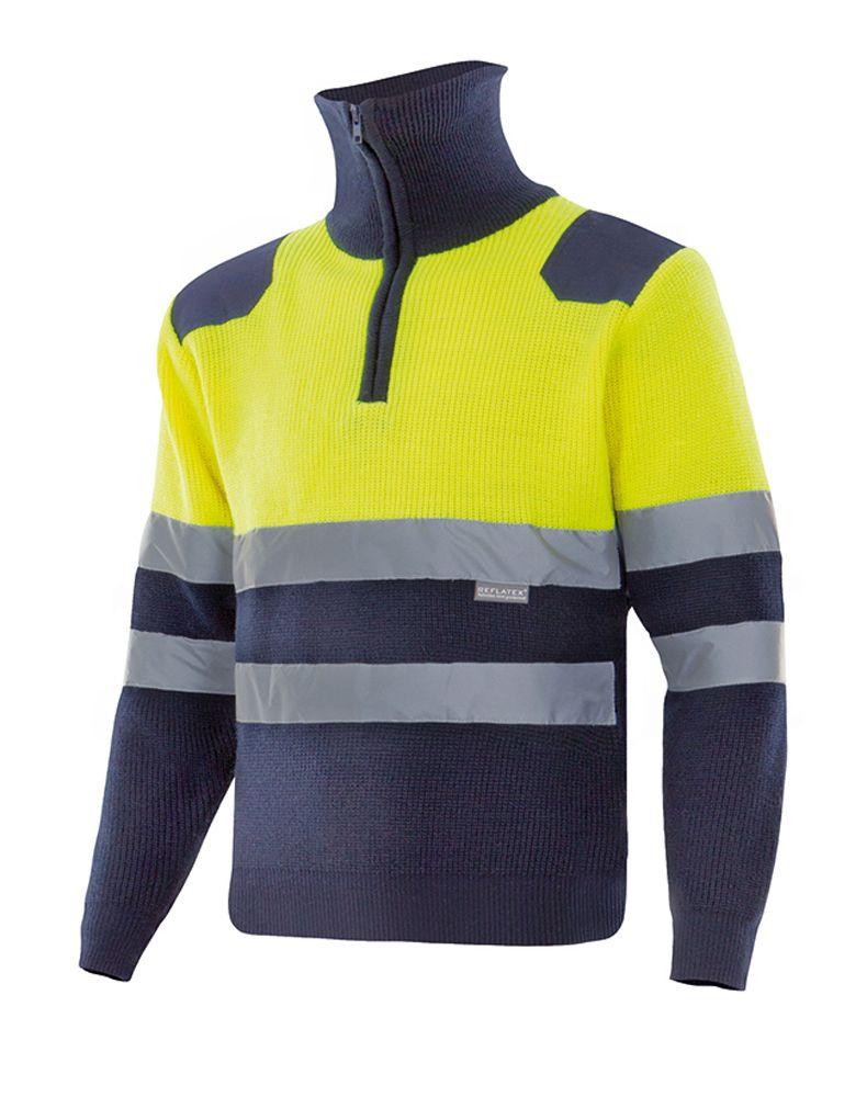 Jersey Bicolor de Alta Visibilidad Serie 301001 con Cuello ...