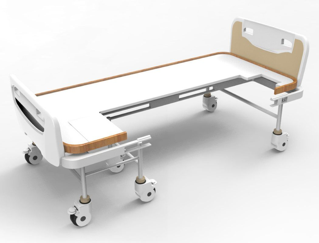 Bed Wheelchair Innovative Hospital Bed Transform Wheelchair By Lirong Yang