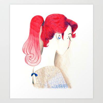 Lua Art Print by Sibylline - $17.68