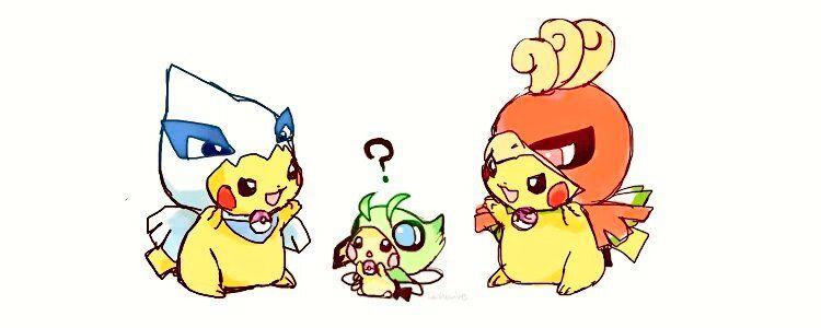 Pichu and Pikachu ^.^ ♡ | Pokemon | Pinterest