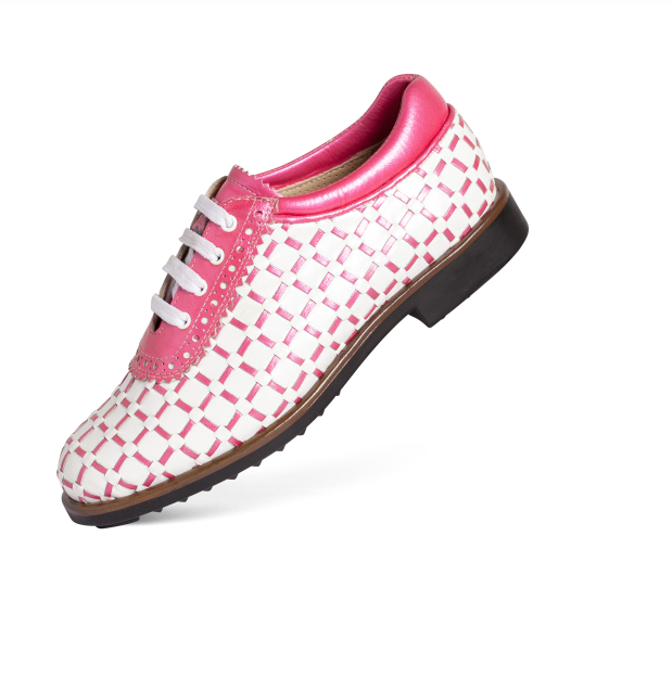 where to buy delicate colors quality products Aerogreen Golf Shoe - Pink Pavia