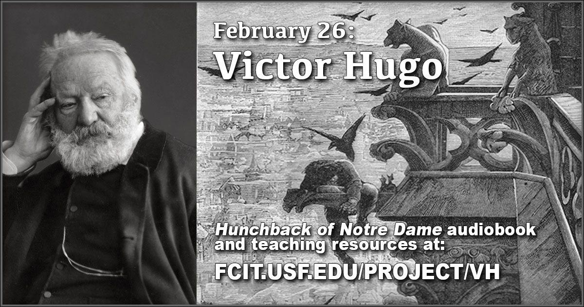 February 26 victor hugo audio books victor hugo novelist