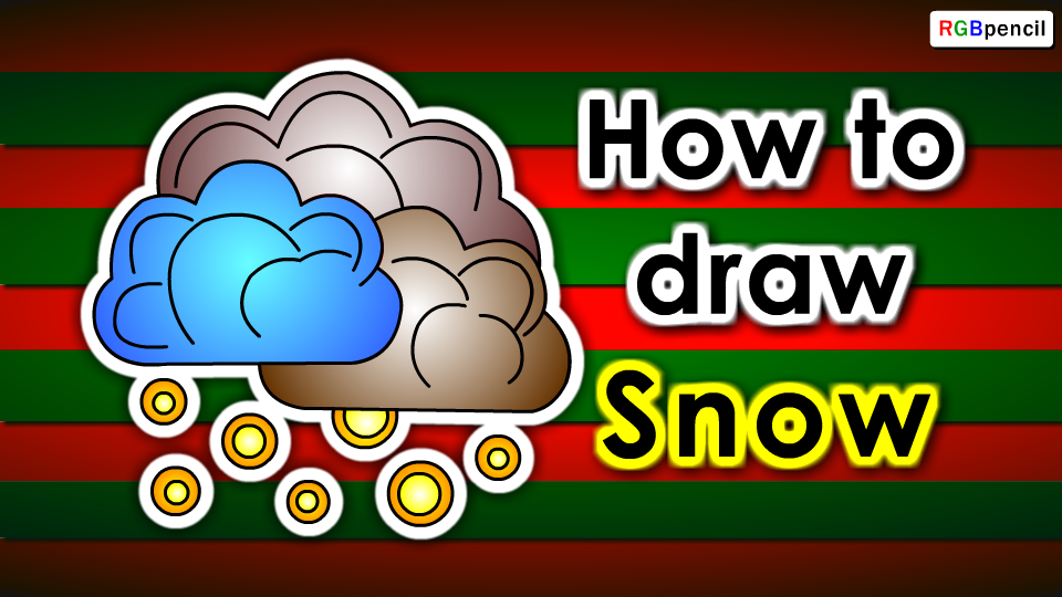 how to draw a snow for kids step by step is an easy animated drawing tutorial for kids beginners children to learn snow drawing easily