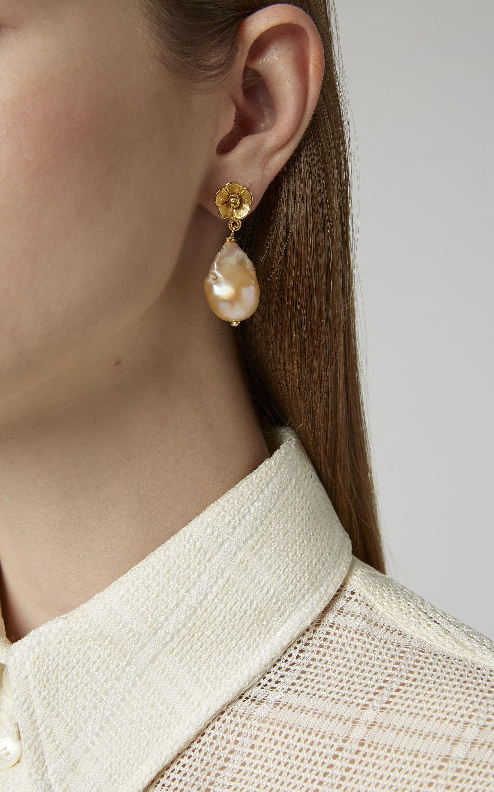 Vintage Sunny Side Up Earrings