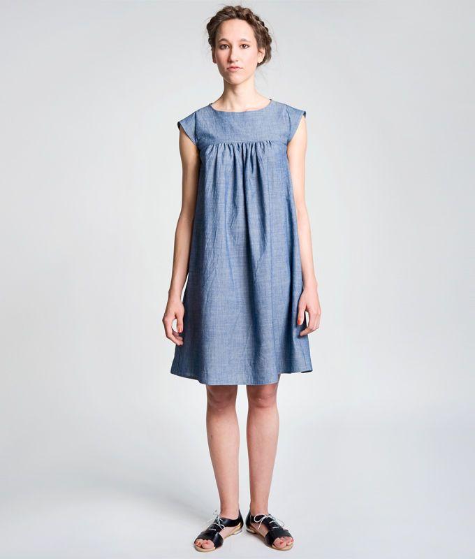 Schnittmuster und Nähanleitung Kleid Hannah ...