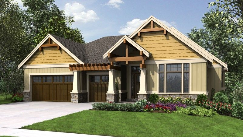 beautiful craftsman with lots of character plan 1337a the beaverton