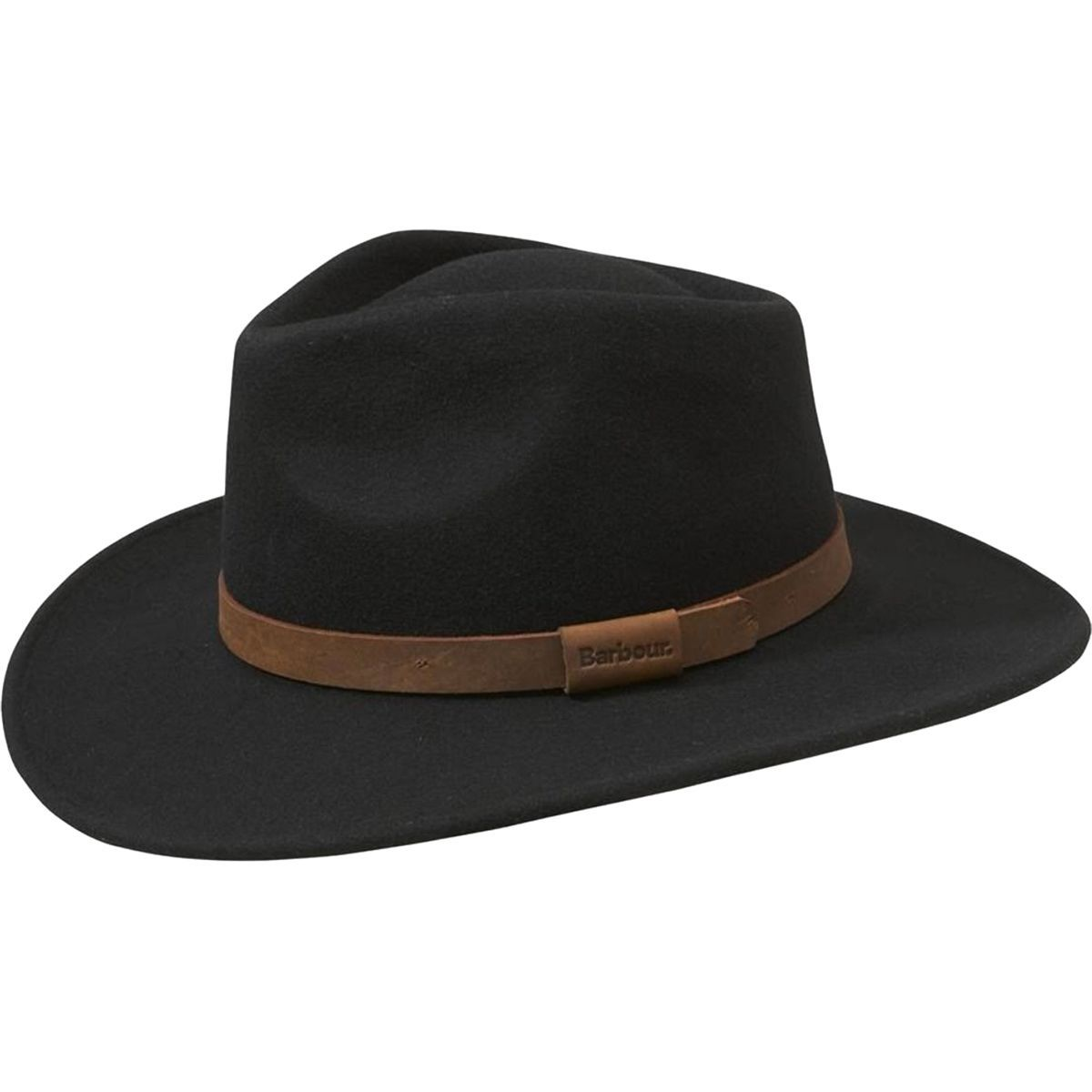 barbour unisex leather bushman hat