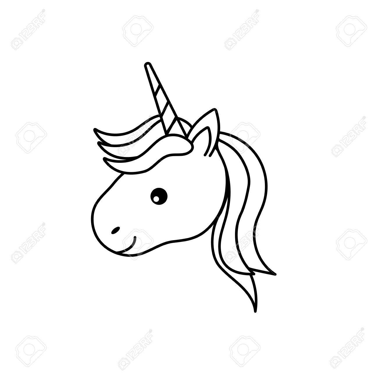Image result for line drawing unicorn unicorn
