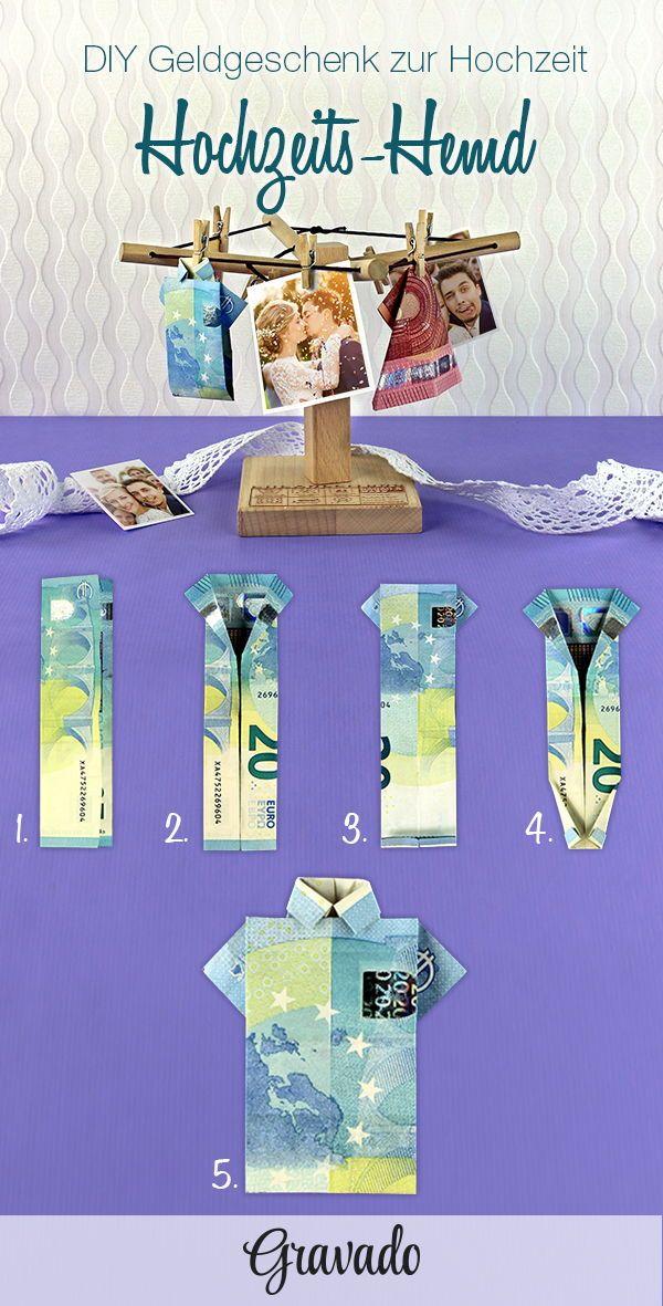 Geld Wäschespinne zur Hochzeit – Eheanleitung – personalisiert