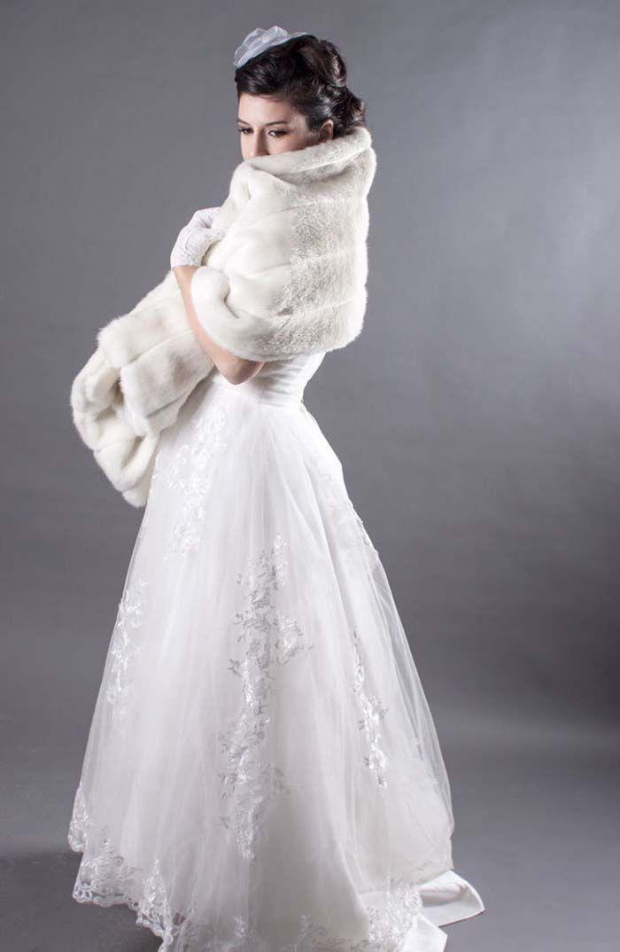 12 Lovely Winter Cover Ups | Winter weddings, Winter wedding ideas ...