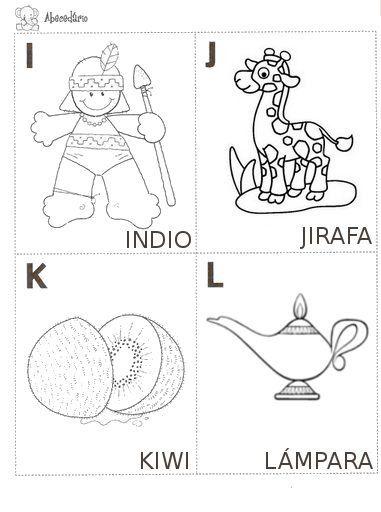 Abecedario Ilustrado Para Imprimir Abecedario