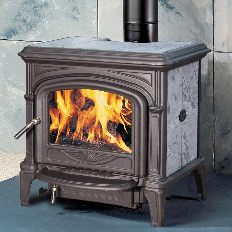 Phoenix 8612 Matte Black Soapstone By Hearthstone Wood Stove Stove Wood