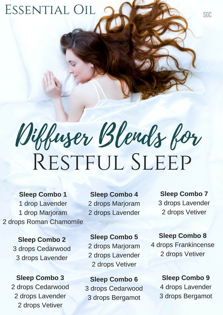 Trouble Resting At Night Find Out How You Can Sleep Better With Essential Oils