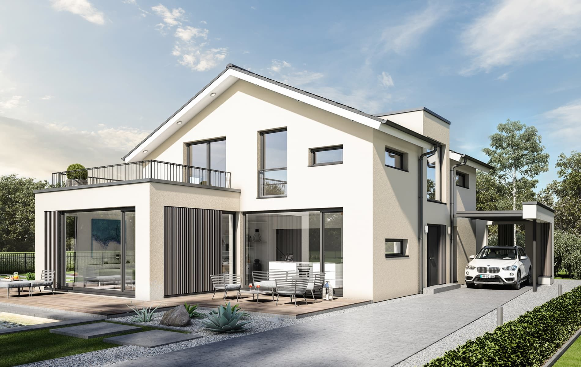 Bien Zenker Concept M 154 Hannover In 2020 Villa Design