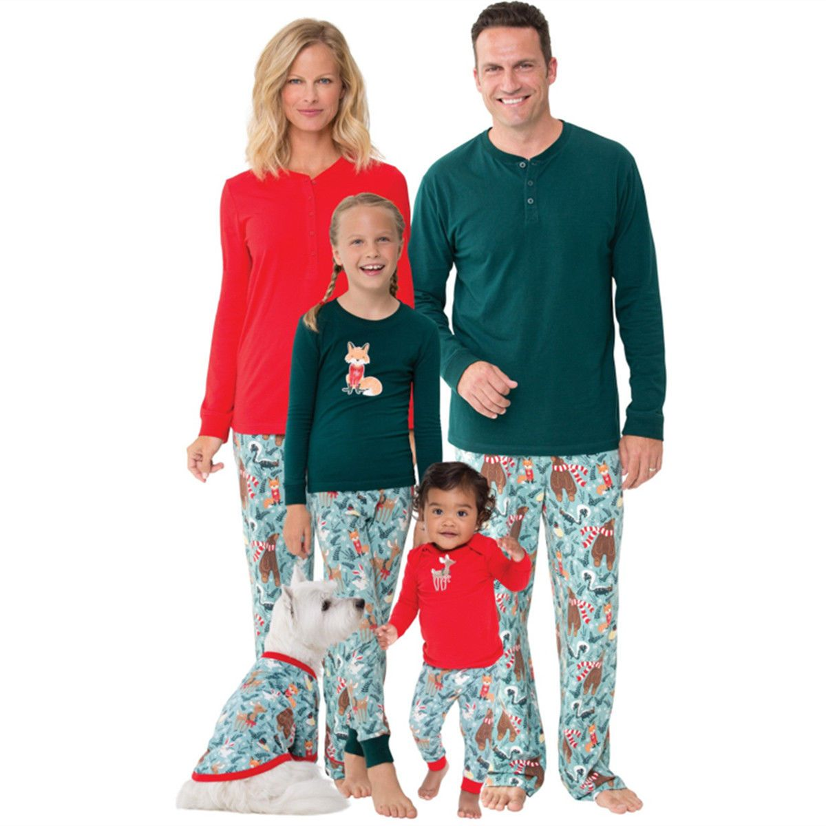 ad3d3319fd  9.99 - Us Family Matching Christmas Pajamas Set Women Men Kids Sleepwear  Nightwear Hot  ebay  Fashion