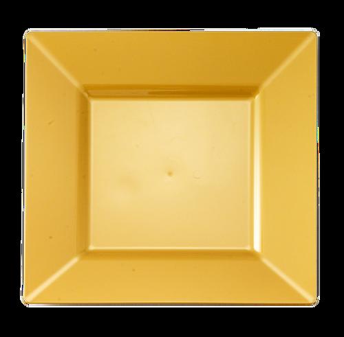 6.5\ \  Square Gold Plastic Dessert Plates  sc 1 st  Pinterest & 6.5\