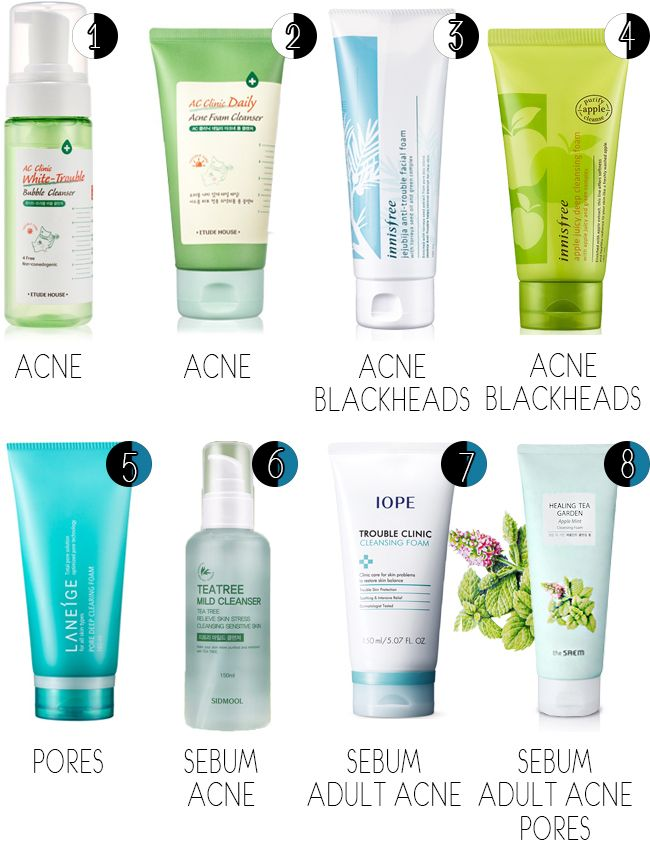 The Best Korean Products For Combination Oily Troubled Skins Sun Hye Mi Lifestyle And Kore Skin Cleanser Products Skincare For Oily Skin Simple Skincare