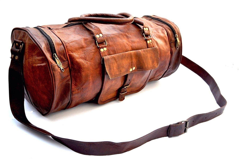 4840163f793337 Men's Bags, Duffle Bags, Genuine Leather Mens Duffle Gym Bag Sports Weekend  Bag Carry on Bag - C317YDN3Y6M #style #DuffleBags #mensbags #Travelbag  #Handbags ...