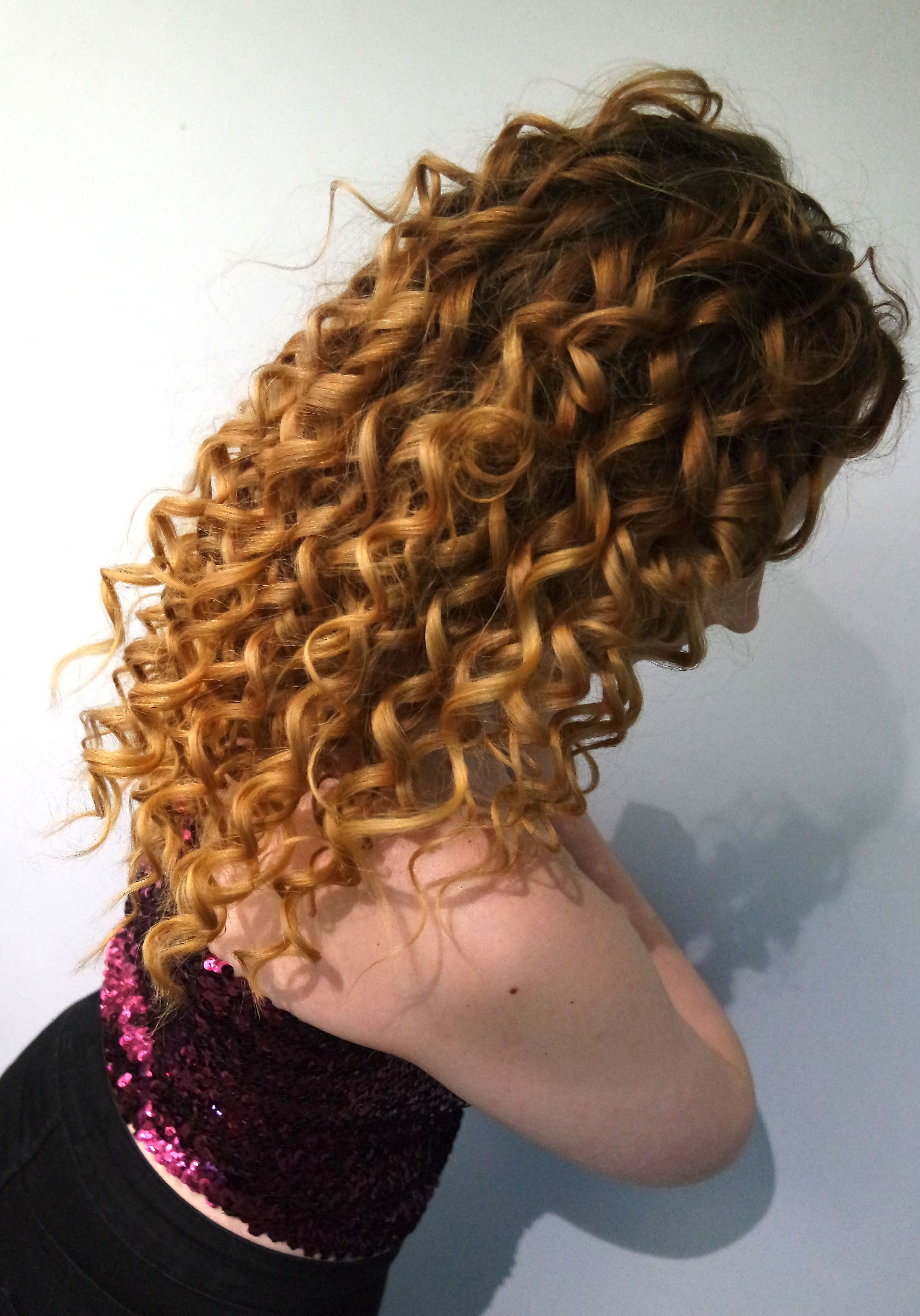 Curls for days by Jenna with model Tiffany ✂ ❤ curlyhair