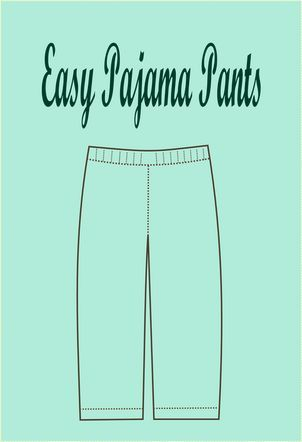 FREE SEWING PATTERN: easy pajama pattern - On the Cutting Floor ...