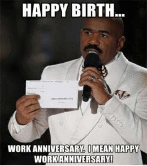 Funny Work Anniversary Memes Generatestatus Work Anniversary Meme Work Anniversary Anniversary Meme