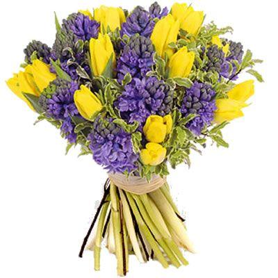 Fiori Gialli Mazzo.Bouquet Giallo E Viola Cerca Con Google Matrimonio Viola E