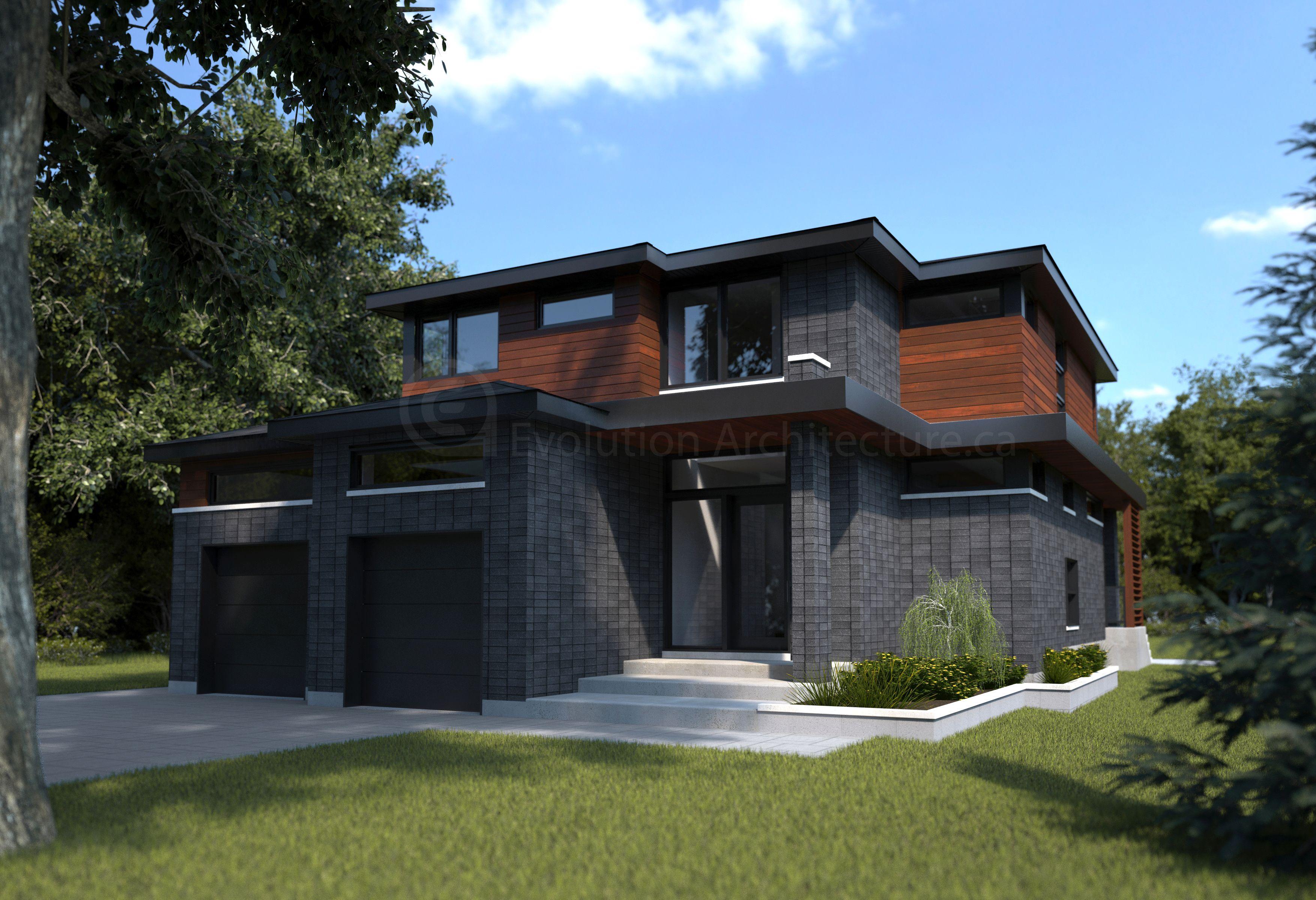 Evolution Architecture inc Maison style Cape Cod création