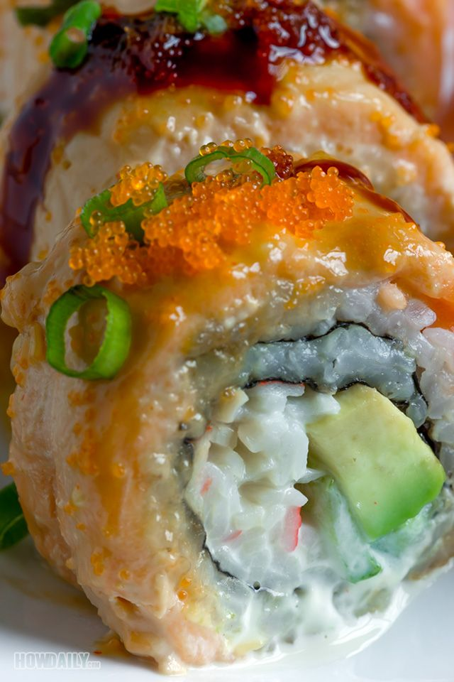 lion king sushi roll a creamy mouthwatering treat for cook sushi fanatics