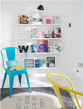 eitschriftenregal sehr dekorativ offenes regal f r b cher. Black Bedroom Furniture Sets. Home Design Ideas